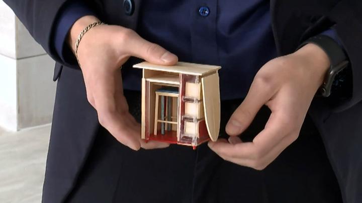 Школьник из Таймыра придумал многофункциональную мебель для маленьких квартир