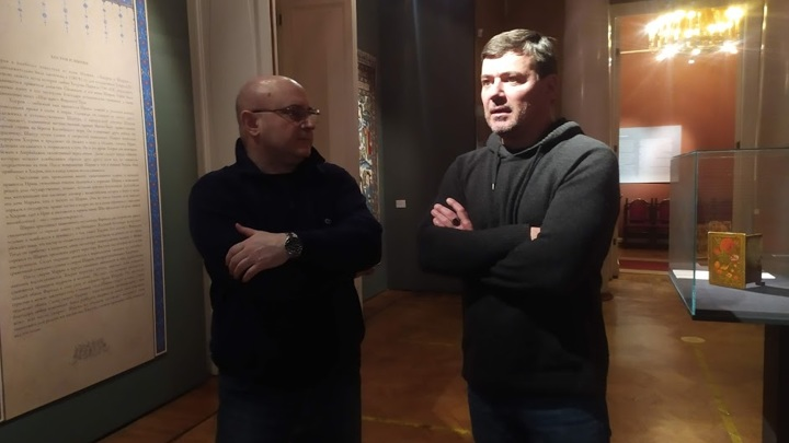 Николай Мамулашвили и Илья Зайцев