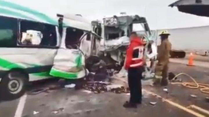 Трагическая авария в Мексике: 16 человек погибли и 14 пострадали