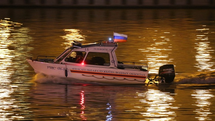 Девушку спасли с дрейфующей по Москве-реке льдины