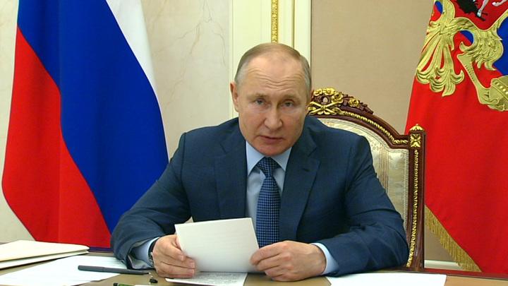 Путин: эффективные инициативы из предыдущих Посланий надо продолжать