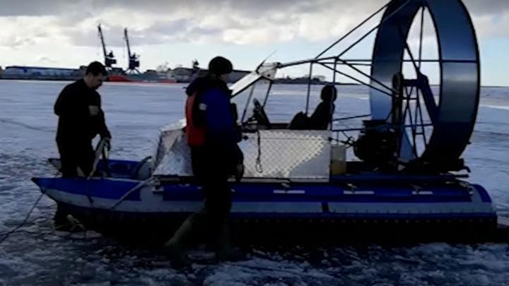 Архангелогородец погиб, пересекая реку на самодельной аэролодке