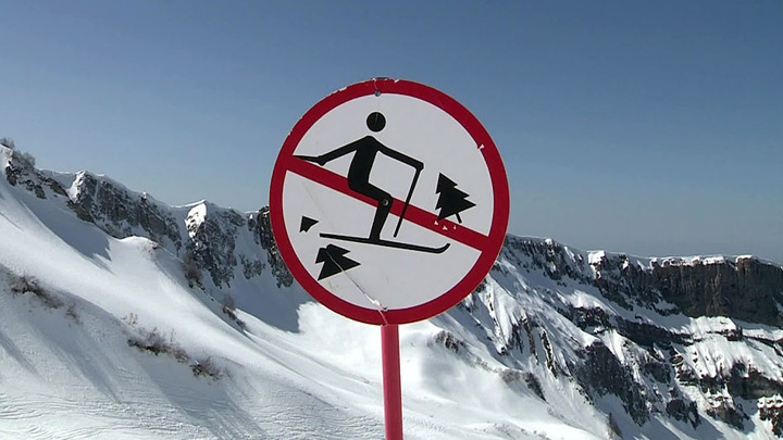В МЧС предупредили о лавиноопасности в горах Сочи