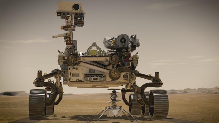 Первый полет марсианского вертолета вновь перенесен