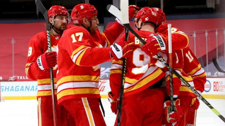 """Калгари"" прервал серию поражений в НХЛ, разгромив ""Эдмонтон"""