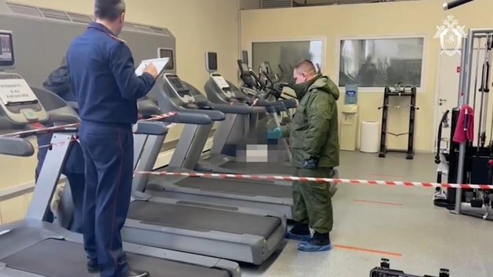 Убийство в московском фитнес-клубе попало на видео