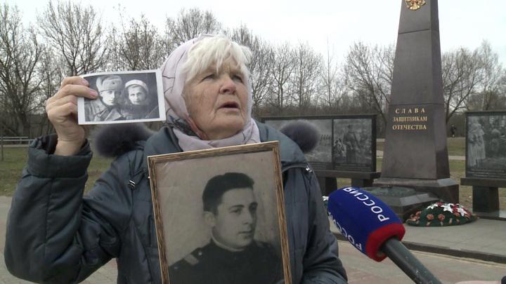 В память об отце: москвичке провели персональную церемонию возле Вечного огня