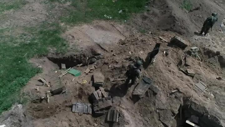 Миротворцы начали разминирование хозяйственных угодий в Нагорном Карабахе