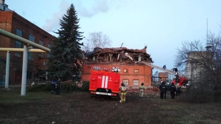 Обрушение на территории Тамбовской ТЭЦ: люди в районе аварии остались без воды