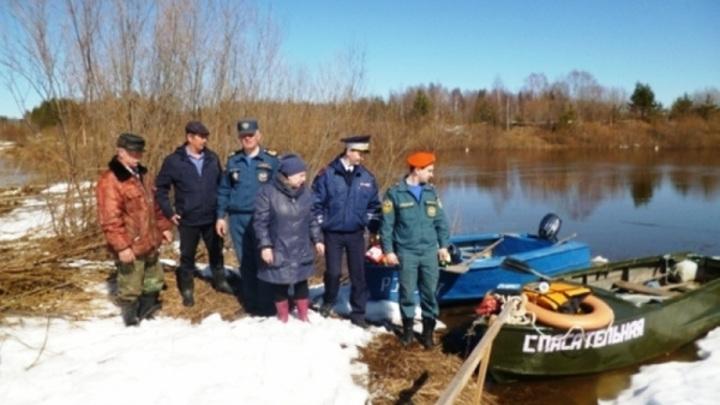 Костромская деревня осталась без моста из-за паводка