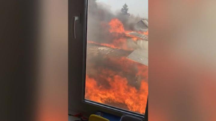 В Калужской области росгвардейцы спасли людей на пожаре