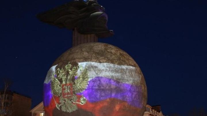 Ко дню города памятник 600-летию Калуги станет проекционным экраном
