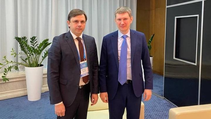 Глава Орловской области провел рабочую встречу с Министром экономразвития РФ