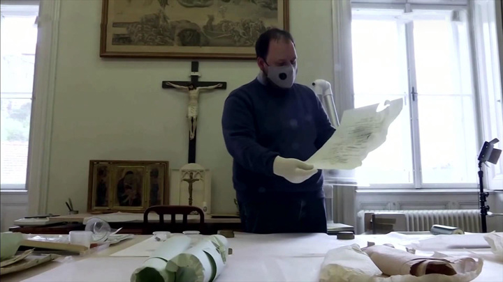 Документы XIX века обнаружили в соборе венгерского города Эстергома