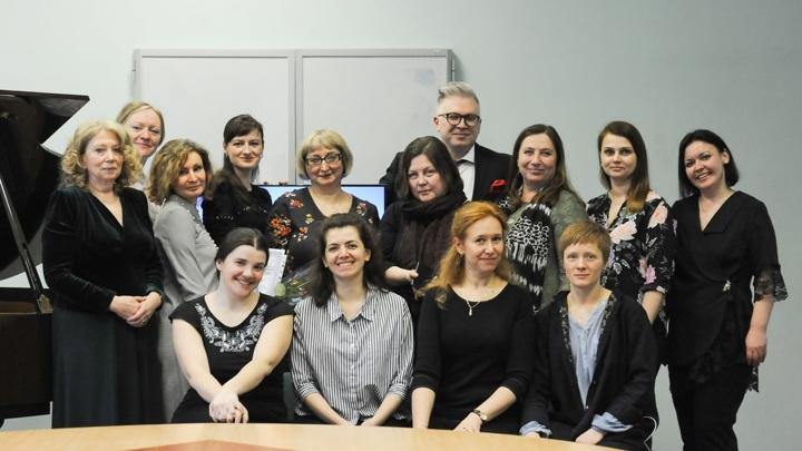 Участники Форума фортепианных дуэтов. Санкт-Петербург