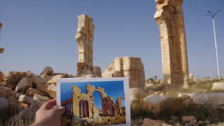 Крымские реставраторы восстановят триумфальную арку в Сирии