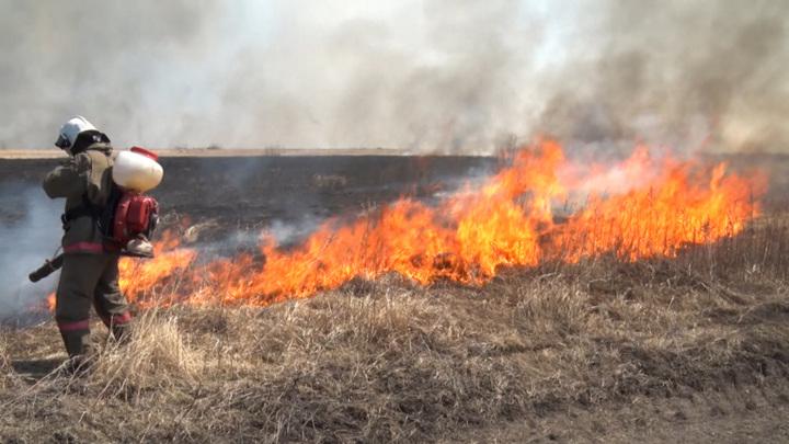 На север Приамурья стянули дополнительные группы пожарных