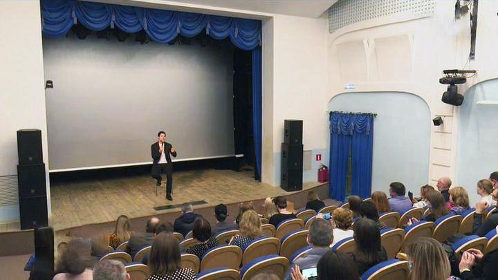 Данила Козловский презентовал свой новый фильм в Туле