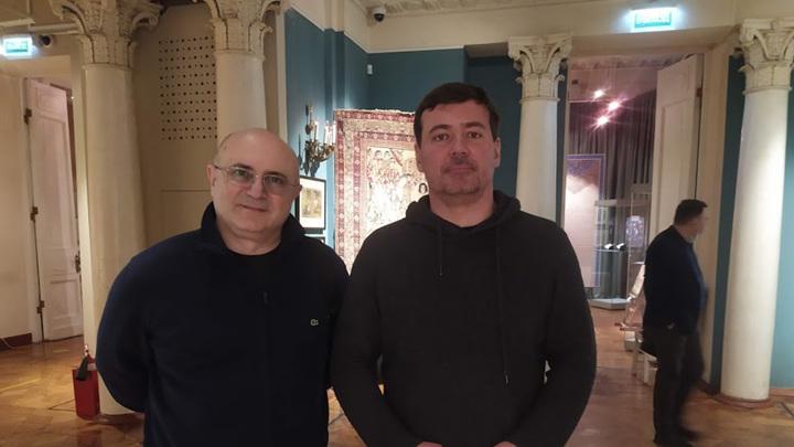Николай Мамулашвили с гостем Ильёй Зайцевым