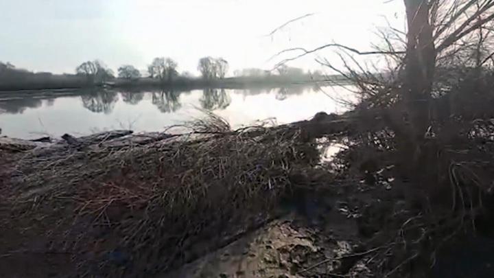 В Ульяновской области разрушился единственный мост в поселок Соловьевский