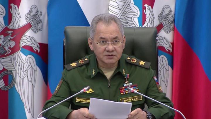 Сергей Шойгу рассказал о свежем вооружении российской армии