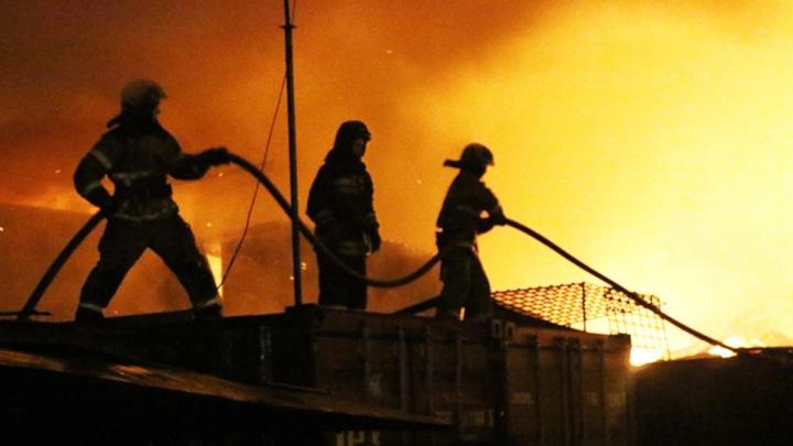 В Приморье два человека погибли в ночном пожаре