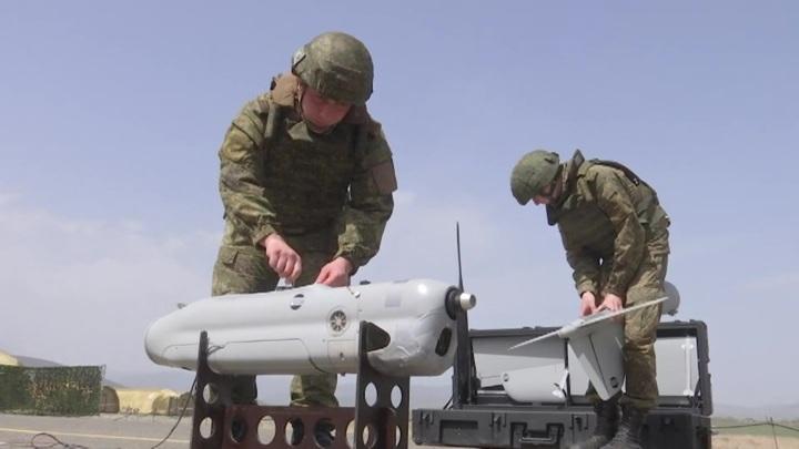 Российские беспилотники следят за обстановкой в Нагорном Карабахе