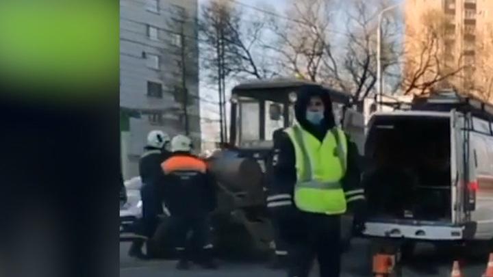 Пермского водителя трактора засосало в уборочный механизм