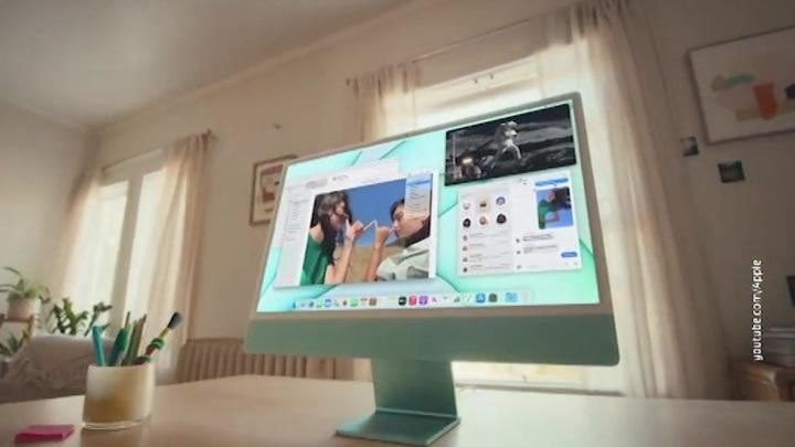 Apple показала разноцветные iMac и мощные iPad