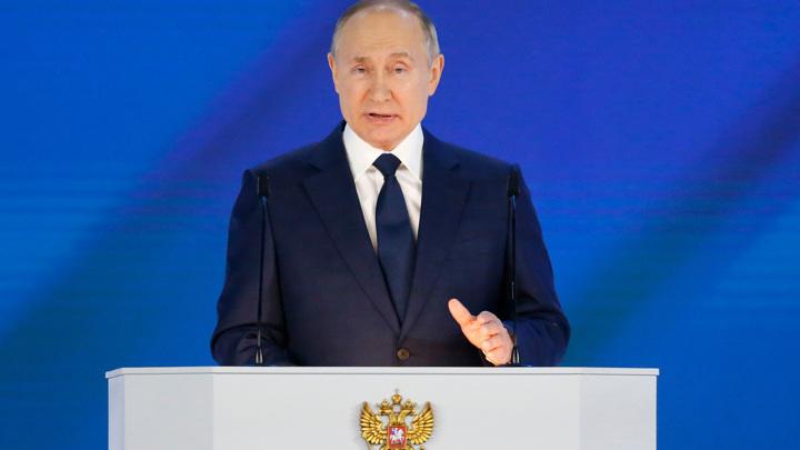 Путин: сбережение народа – высший национальный приоритет