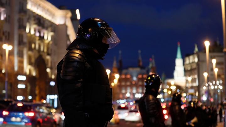 В Москве за нарушение порядка задержали 20 человек