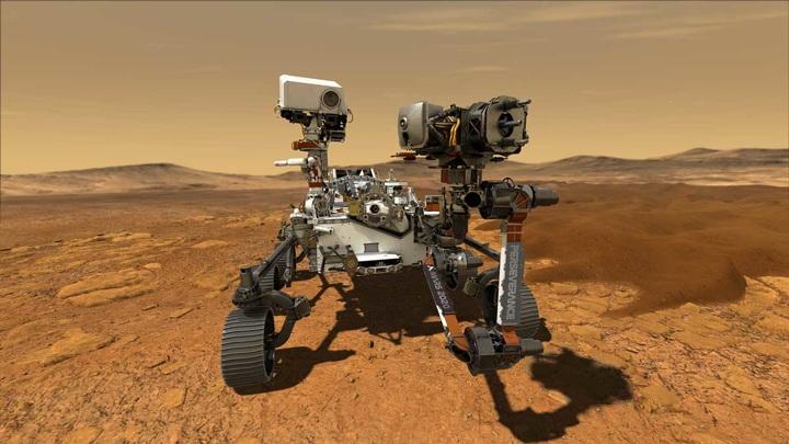 Прибор на борту марсохода Perseverance начал производство кислорода на Марсе.