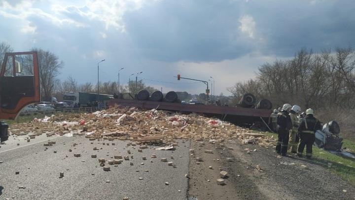 В ДТП под Орлом пострадали два человека