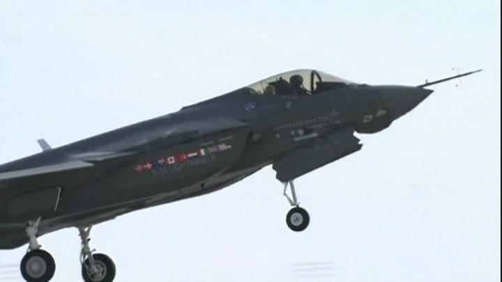 Турция исключена из программы производства F-35