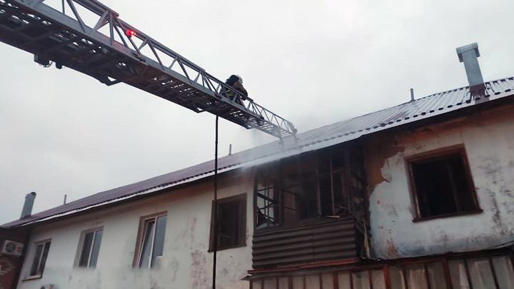 СК Башкирии проверит обстоятельства гибели ветерана войны на пожаре