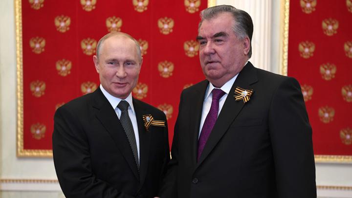 Владимир Путин примет сегодня в Москве таджикистанского коллегу Эмомали Рахмона