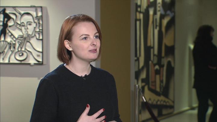 """Елена Коротких – о выставке """"Не живопись"""""""