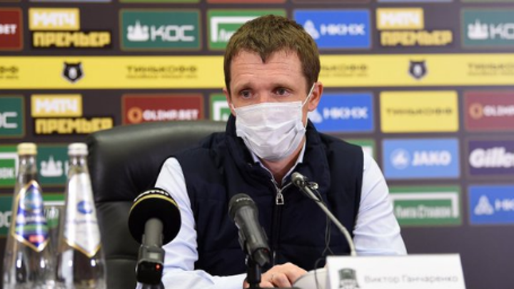 Виктор Гончаренко дисквалифицирован на три матча РПЛ