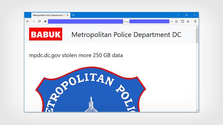 Хакеры-вымогатели обещают раскрыть имена полицейских информаторов