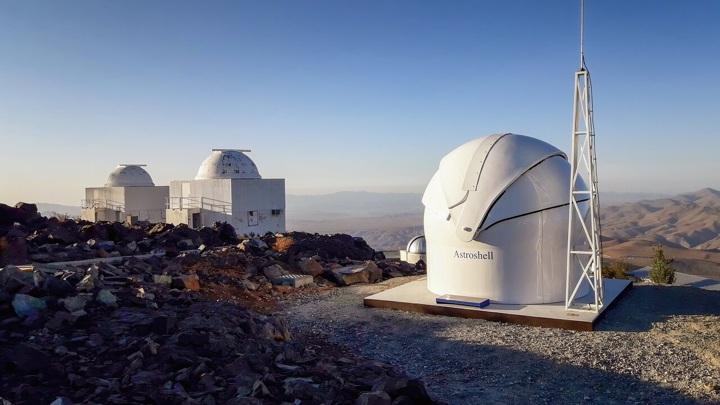 Новый телескоп станет прообразом сети предупреждения о космической угрозе.