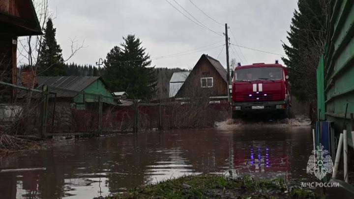 На юге Кузбасса готовятся к эвакуации из-за паводка