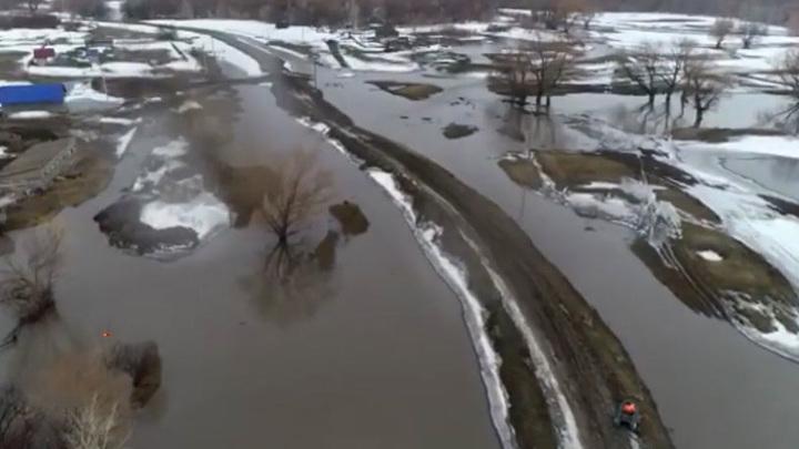 Жителей алтайских сел предупредили о возможной эвакуации из-за паводка