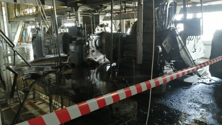 Пожар на Сорочинском маслоэкстракционном заводе: есть погибший