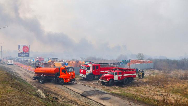 Курганский пожар максимального ранга опасности потушен
