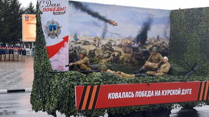 На параде в Белогорске военную технику украсят экспозициями боев