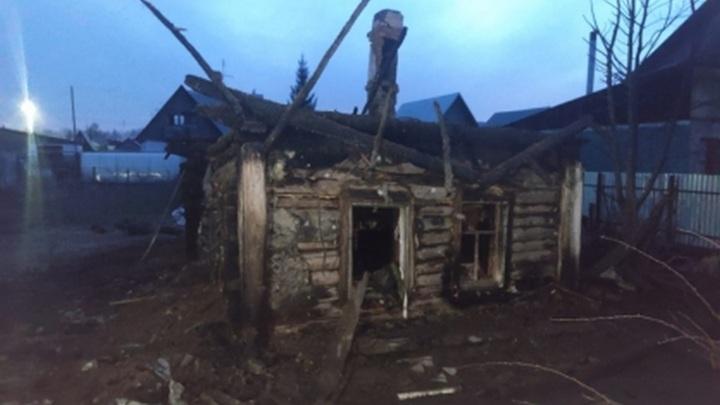 Спасенный на пожаре под Новосибирском 9-летний мальчик скончался в больнице