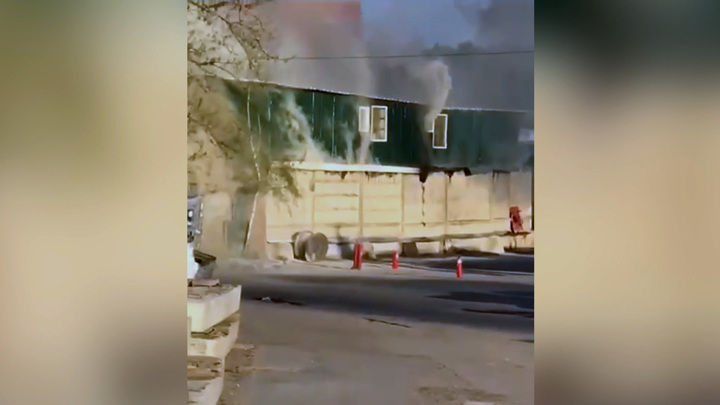 В Мытищах в горящем сварочном цехе погибли пятеро человек