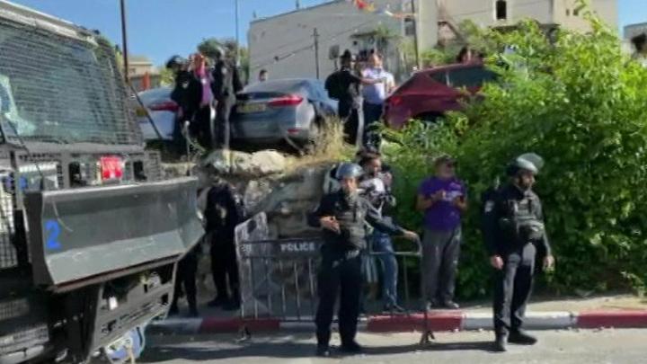 Число пострадавших в Иерусалиме палестинцев достигло 200
