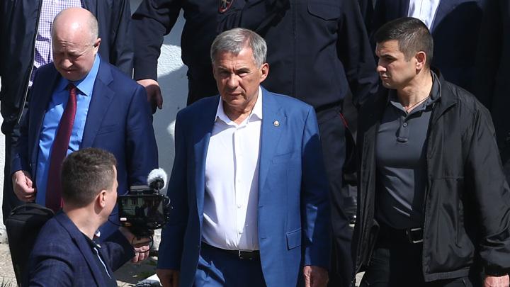 Глава Татарстана: оружие одного из стрелявших зарегистрировано официально