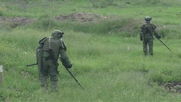 Поселок Мадагиз в Нагорном Карабахе очистили от взрывчатки